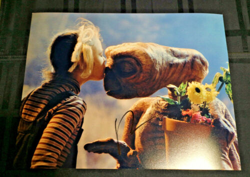 *KISSING ET* Drew Barrymore Signed 11x14 Extra-Terrestrial Photo PROOF COA