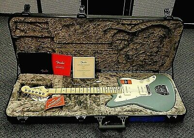2019 Fender American Professional Jazzmaster w/ Case! Sonic Gray! NO RESERVE!!!!