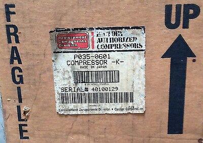 Discounthvaccp-p0350601-toshiba-carrier Compressor 115v 1ph Achp Free Freight