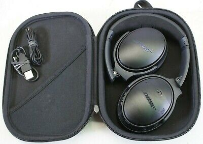 Bose QC-35 QuietComfort 35 Series II Wireless Headband Headphones - Black (MINT)