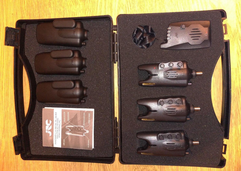 JRC RADAR CX ALARM SET 3+1 - Ampelfarben - Funkbissanzeiger - im Koffer