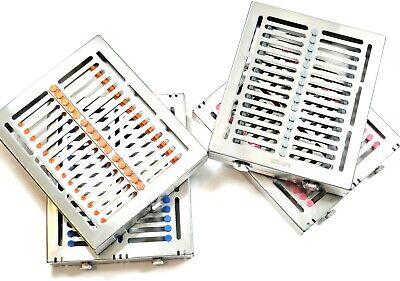 German Dental Sterilization Cassette Tray Box For 15 Instruments Detachable Type