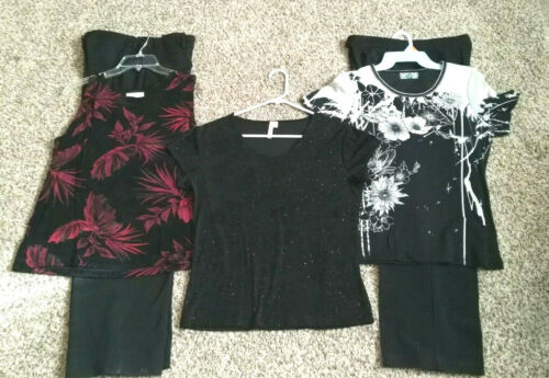 Womans Clothing Lot of 5, Pants Size 10, Tops L