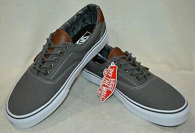 Vans Men's C&L Era 59 Pewter Italian Weave Skate Shoes-Sz 9/9.5/10/10.5/12/13 NB