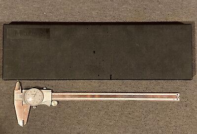 Mitutoyo 505-746 Dial Caliper 0-12 Range 0.001 Accuracy