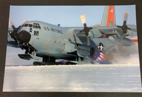 US Air Force C-130 Hercules JATO Assisted Take Off Large Photo Print