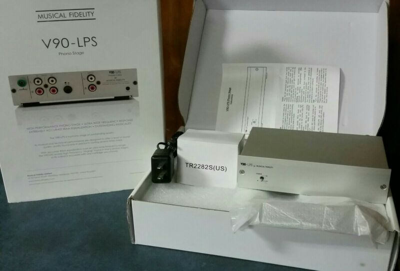 Musical Fidelity V90-LPS Phono Stage Preamp