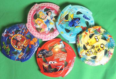 Frisbee Soft Kinder Wurfscheibe Minions Disney Cars Jake - Minions Disney