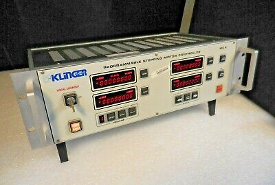 Klinger Scientific Mc4 Programmable Stepping Motor Controller 115vac 100w