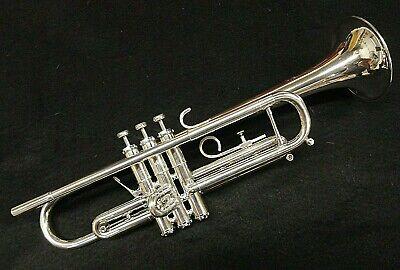 Getzen Capri Silver Trumpet - Professionally Cleaned/Serviced