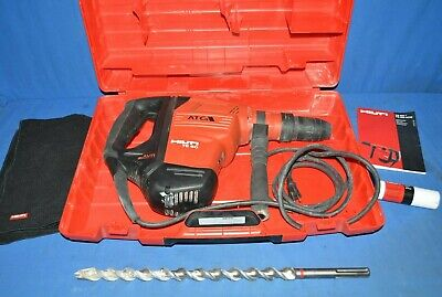 Hilti Rotary Hammer Drill Te 60-atc Corded Sds Max Demolition Pre Owned