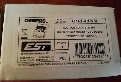 Edwards Est G1rf-hdvm Horn-strobe - Nib