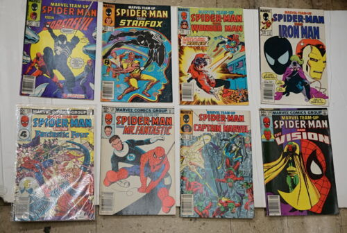 LOT 8 MARVEL COMICS GROUP TEAM UP VERY GOOD CONDITION COLLECTIBLE