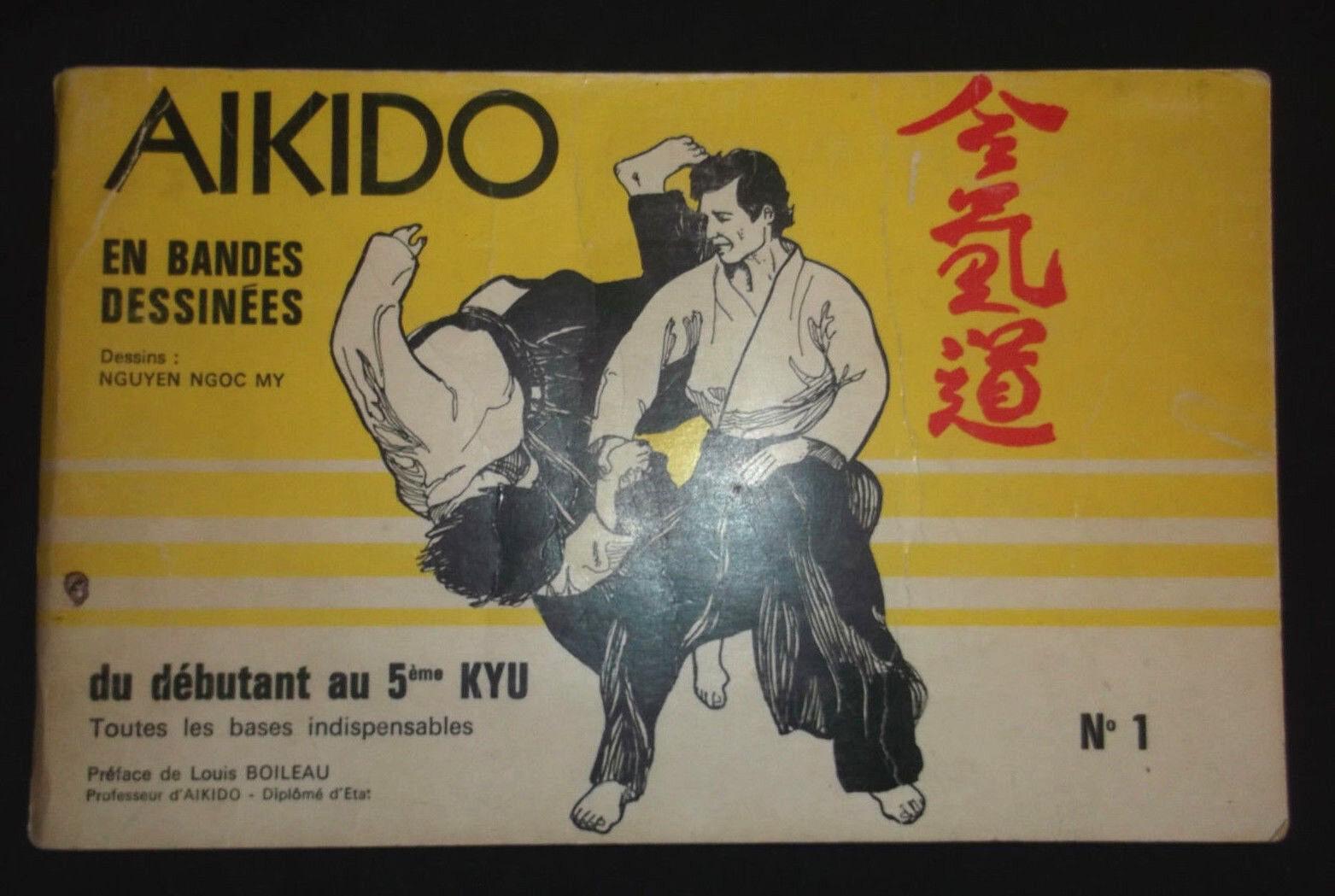 AIKIDO en Bandes dessinées n°1 - Ngoc-My Nguyen & Boileau - EO 1980