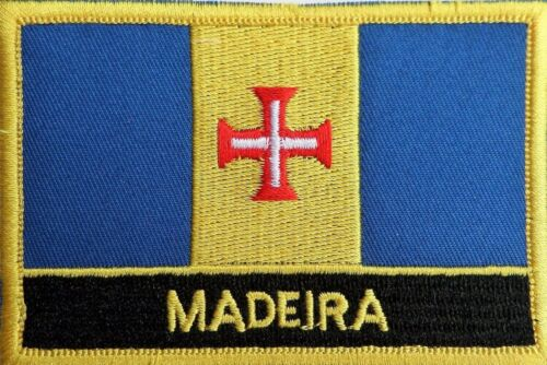 Portugal Madeira Flag Embroidered Patch - Sew or Iron on