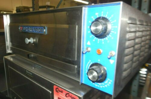 "USED BAKERS PRIDE 24"" COUNTER TOP PIZZA OVEN, ELECTRIC"