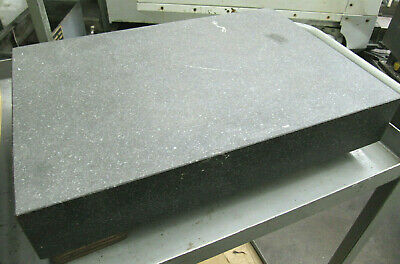 18x12 Black Granite Surface Plate - Great Condition - Inspection Equipment