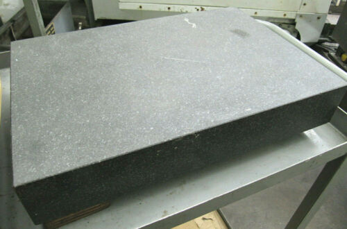 """18""""x12"""" Black GRANITE SURFACE PLATE - Great Condition - Inspection Equipment"""