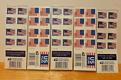 USPS Postage Stamps US Flag 100 Count Forever Stamps - FREE SHIPPING