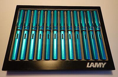 LAMY Al-Star Füllhalter Pacific Blue, limited edition - selten, Sammler, NEU/OVP