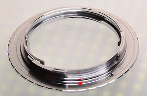 Silver-color-C-Y-CY-Contax-Yashica-Zeiss-lens-to-Canon-EOS-EF-Mount-Adapter-Ring