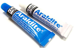 Araldite Epoxy Resin Glue 2 Part Clear Epoxy Adhesive Transparent Quick Dry Glue