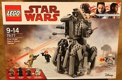 SET BOITE LEGO STAR WARS VAISSEAU 75177 FIRST ORDER AT-AT HEAVY SCOUT...
