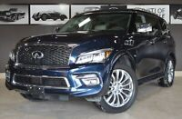 2017 Infiniti QX80 Tech, Adaptive cruise/Blind spt/22/Navi/ 8pas Markham / York Region Toronto (GTA) Preview