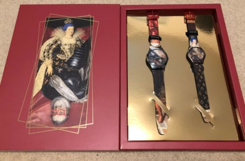 NEW IN BOX Swatch SZS30 Rare Limited Watch Le Louvre 1 out of 500 units Globally