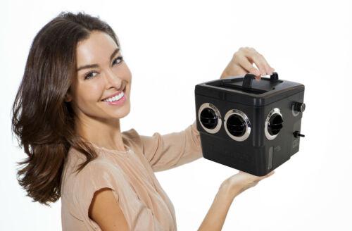 Transcool E3 - 4 Vent Portable 12 Volt Air Cooler Black Ops Edition