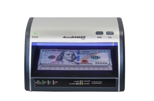 AccuBanker LED420 Counterfeit Bill and ID Detector