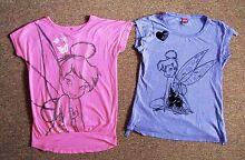 DISNEY Tinker-bell T-Shirts SIZE 12 Padbury Joondalup Area Preview