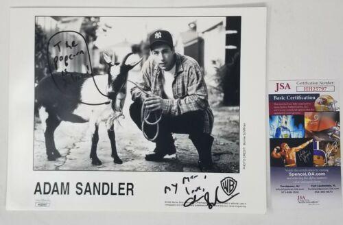 ADAM SANDLER SIGNED 8X10 PHOTO EARLY CAREER SIGNATURE JSA COA BILLY MADISON A