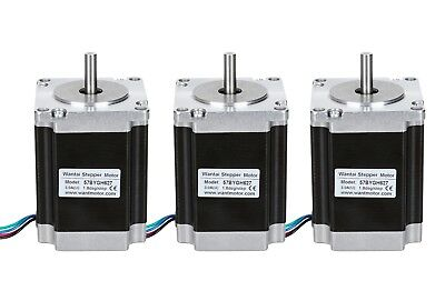 Worldwide Wantai 3pcs Nema23 Stepper Motor 1.9n.m 3v 3a Hot Sell Cnc Kit