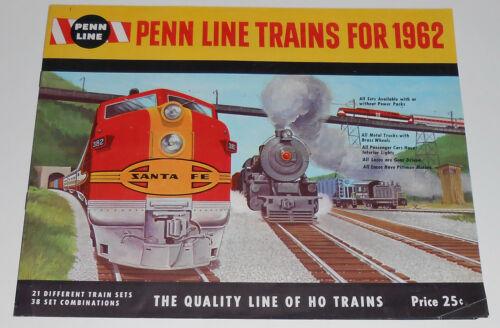 Vintage 1962 Penn Line Electric Trains Catalog HO Berks County Boyertown PA