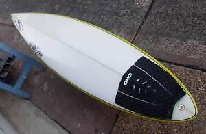 Surfboard 6'8 Santangelo as new pickup Wizstix surfboards C/Coast Morisset Lake Macquarie Area Preview
