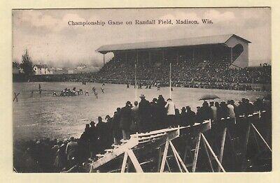 Football Stadium Camp Randall Field University of Wisconsin Madison, WI 1909