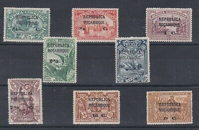 Portugal - Mozambique Nice Complete Set MH 5