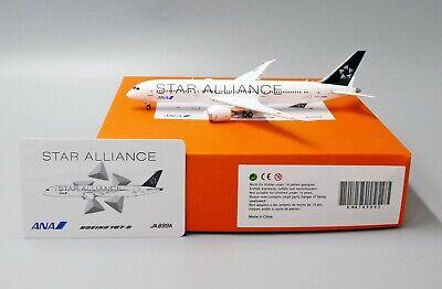 ANA B787-9 Star Alliance Reg:JA899A  Scale 1:400 JC Wings Diecast   EW4789003 for sale  China