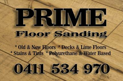PRIME Floor Sanding Service.