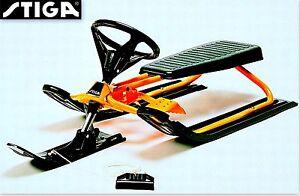 Stiga Lenkschlitten Snow Racer 13 Modelle Snowracer Schlitten Lenk Ski Bob Rodel