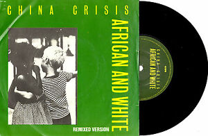 CHINA-CRISIS-AFRICAN-AND-WHITE-7-45-VINYL-RECORD-PIC-SLV-1981