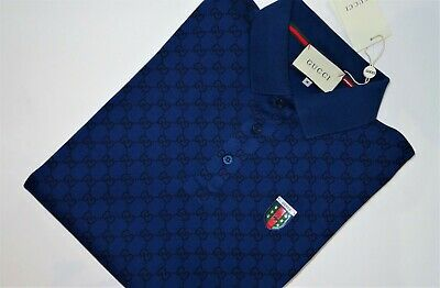 Gucci men's polo shirt/ Indigo/ brand new/ size M