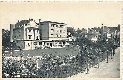 CPA - Belgique - De Panne - La Panne - Hôtel du Parc