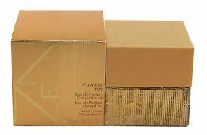 Zen By Shiseido For Women Eau De Parfum Concentrated Spray 1.7/1.6 oz New In Box