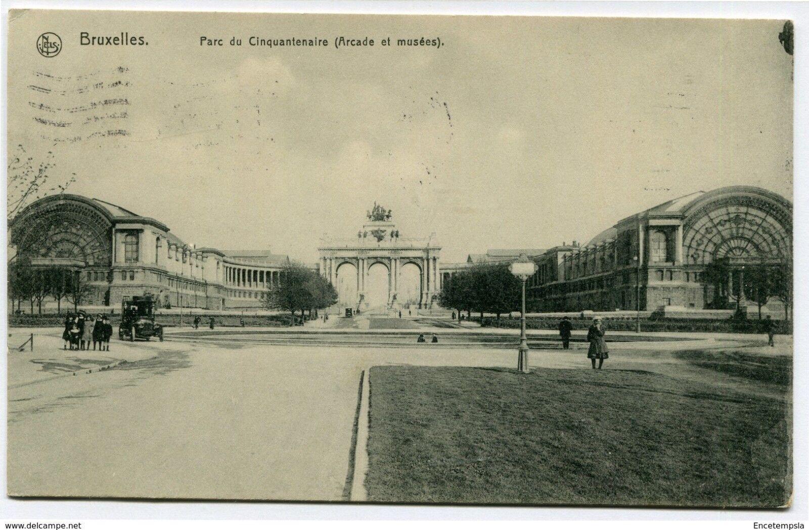 CPA-Carte postale-Belgique-Bruxelles -  Bruxelles - Parc du Cinquantenaire-1914
