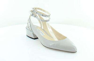 JIMMY CHOO Daniela Gray Womens Shoes Size 10 M Flats MSRP 895