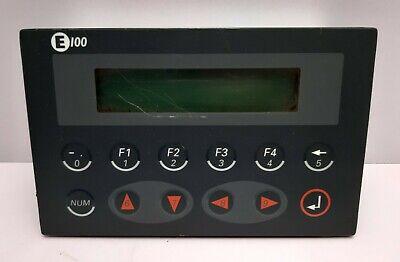 Mitsubishi Beijer E100 Backlit Lcd Hmi Terminal