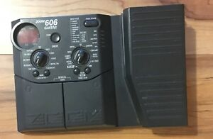 Zoom 606 Multi effects Guitar Pedal