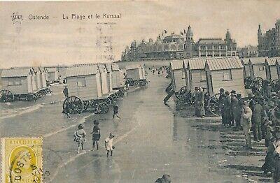 CPA - Belgique - Oostende - Ostende - La Plage et le Kursaal